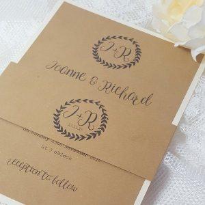 kraft-laurel-wreath-bellyband-invitation