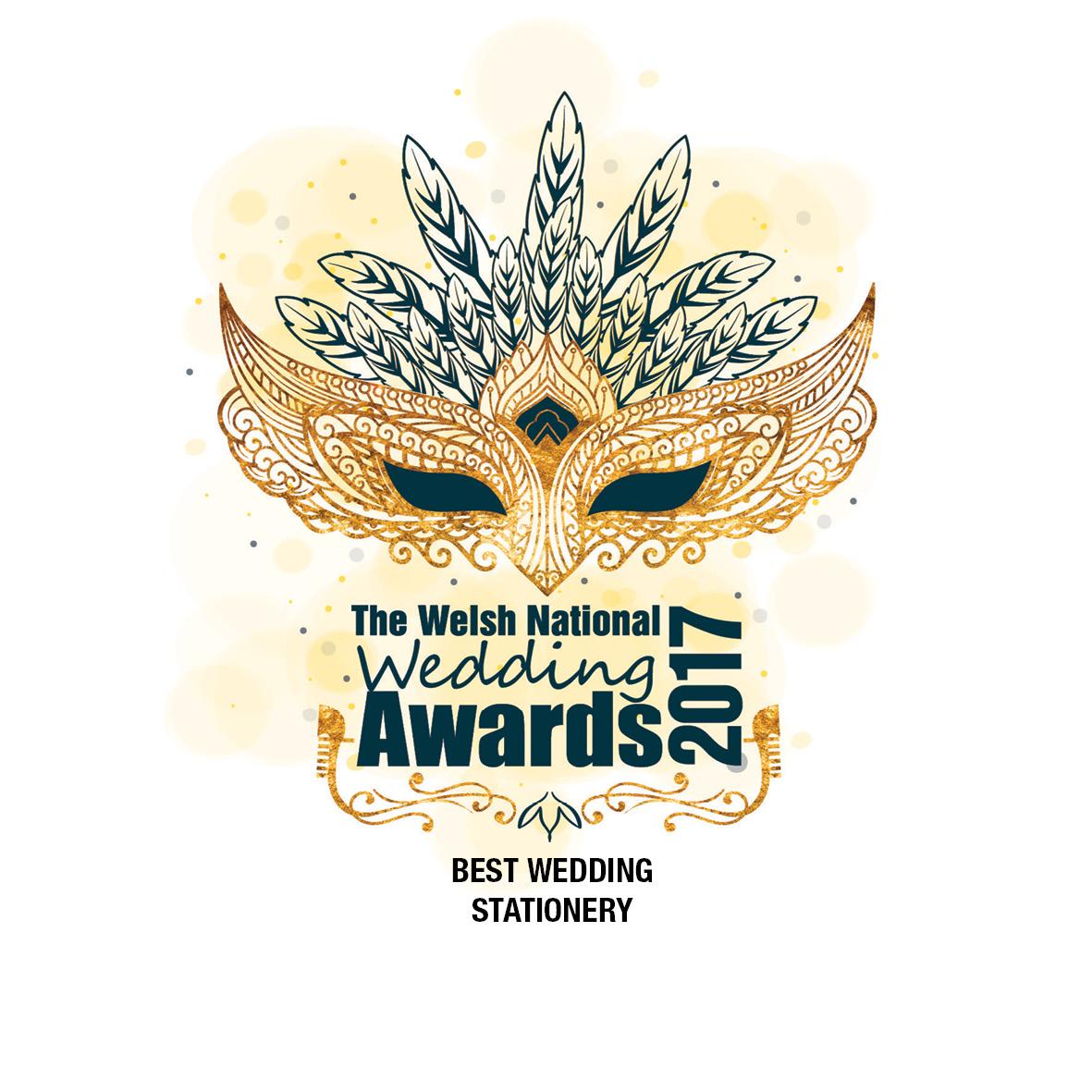 Welsh Wedding Invitations: Best Stationery - Welsh National Wedding Awards 2017