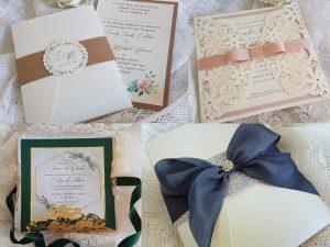handmade luxury wedding invitations