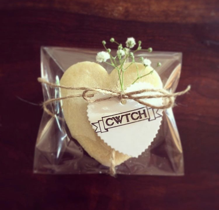 Welshcake wedding favour