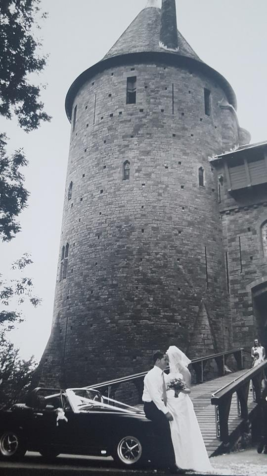 Castell Coch wedding photo