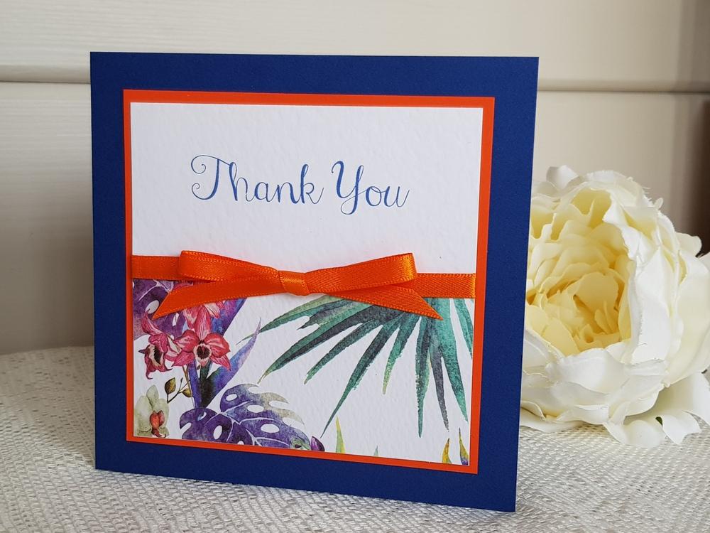 bespoke wedding thank you cards