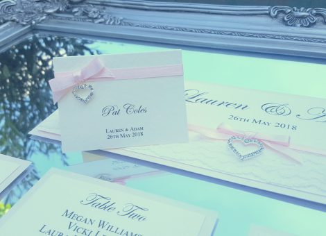 wedding table plan with place card