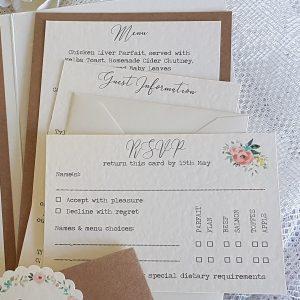 rustic invitation cards