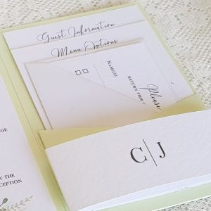 guest information and reply cards