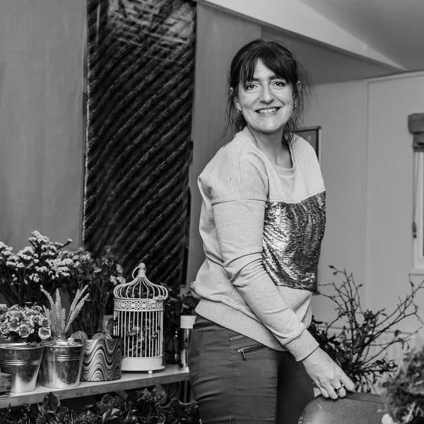 Cardiff florist Anne-Marie