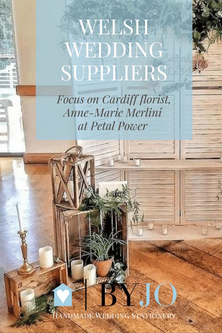 Welsh wedding suppliers, Cardiff florist Petal Power