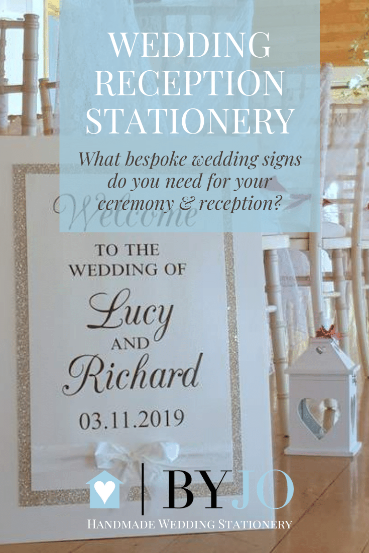 what bespoke wedding signs do you need