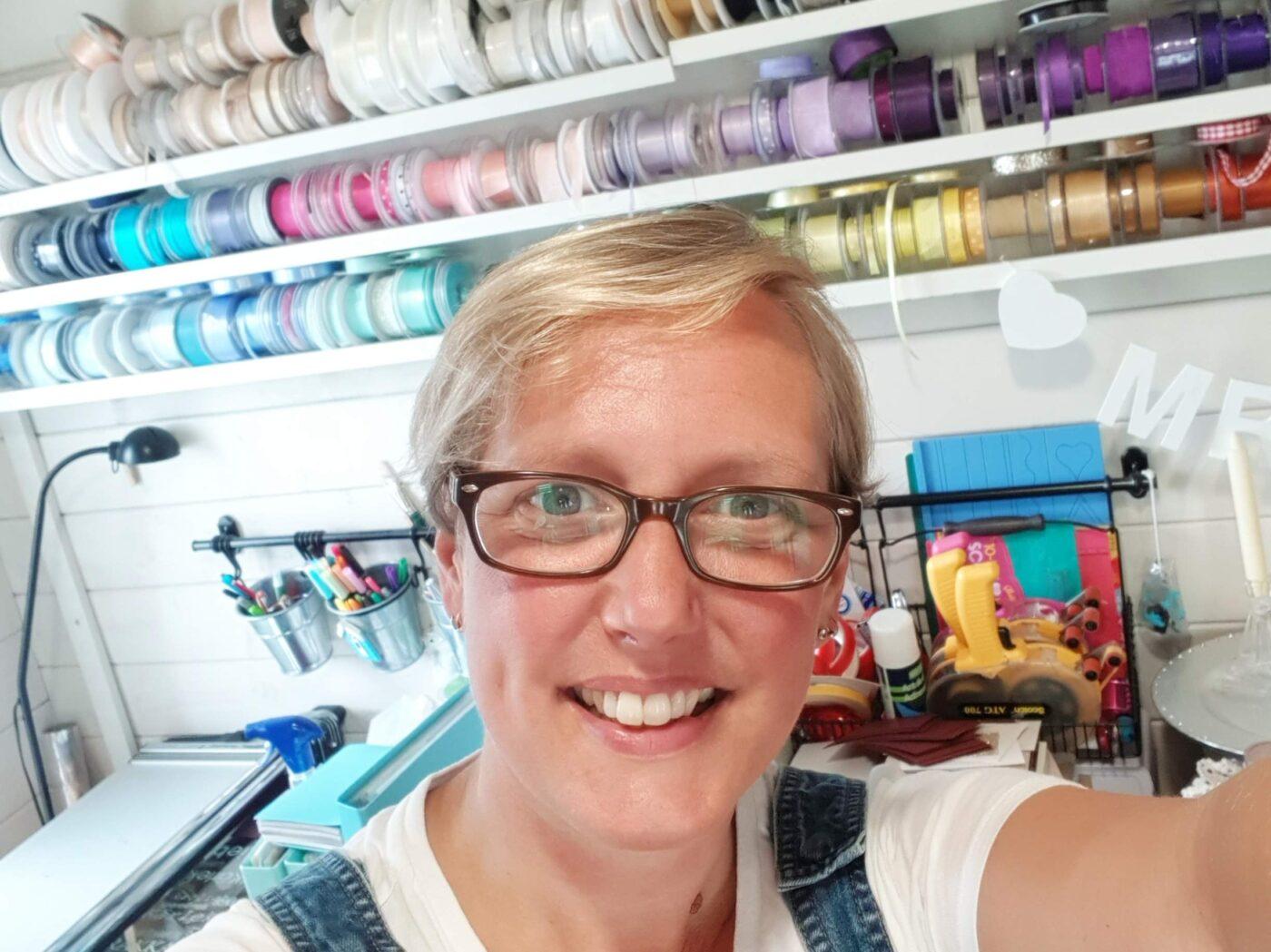 Jo, Cardiff based bespoke wedding stationery designer