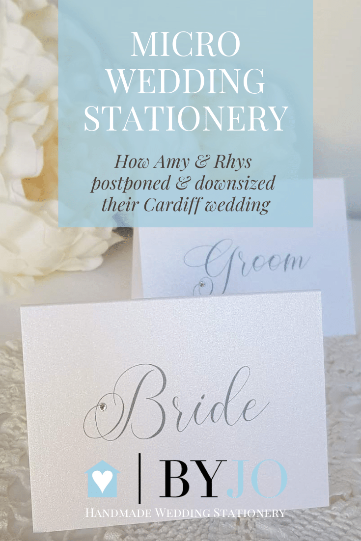 elegant micro wedding stationery pinterest graphic