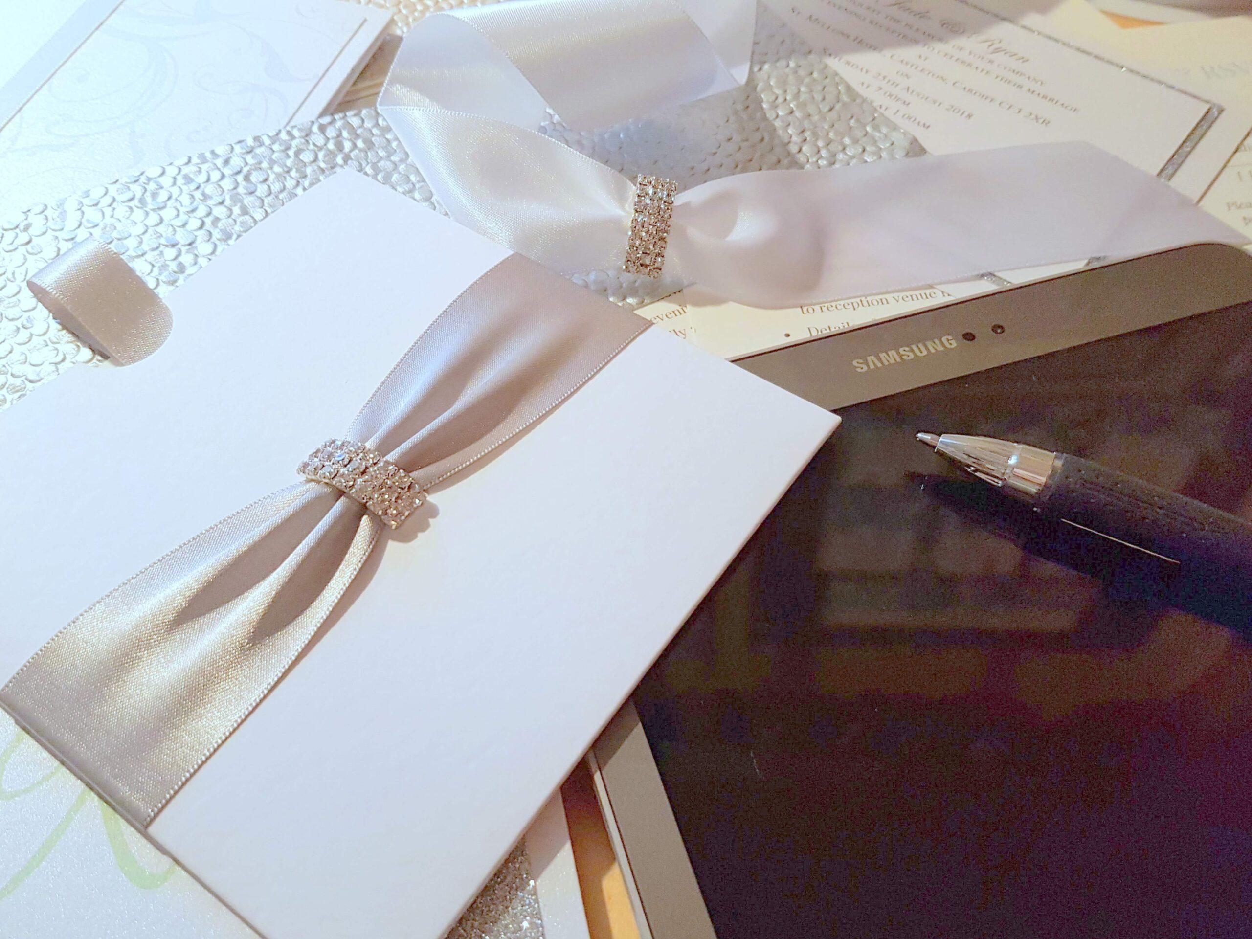 Handmade wedding invitations and stationery design