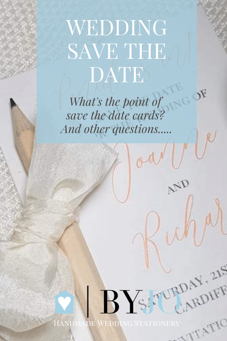 what's the point of save the date cards