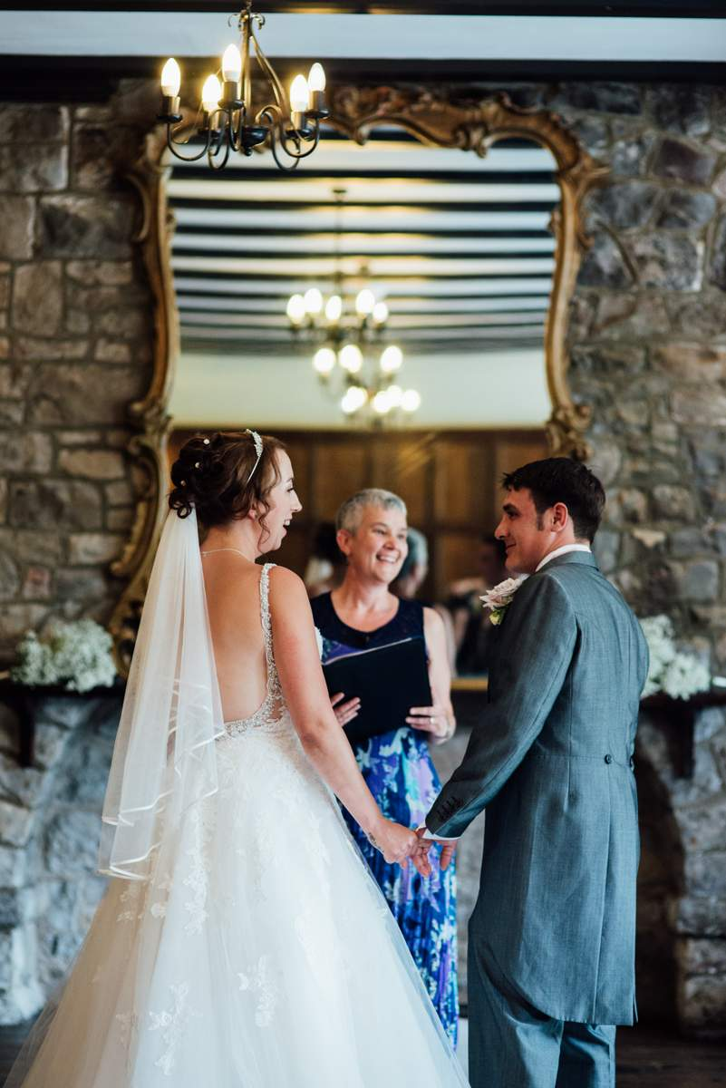 Wedding Ceremony in South Wales