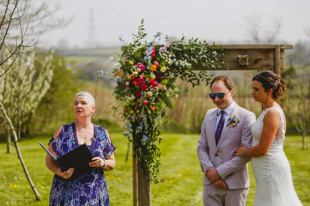 Outdoor wedding ceremony, Jane Grayer Create Ceremonies