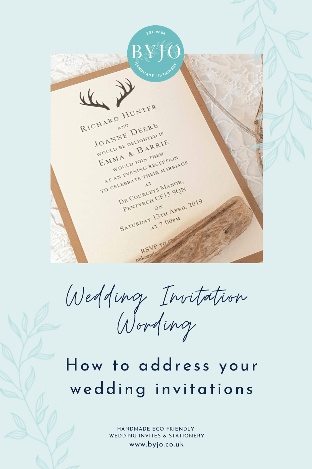 how to address wedding invites a graphic for pinterest